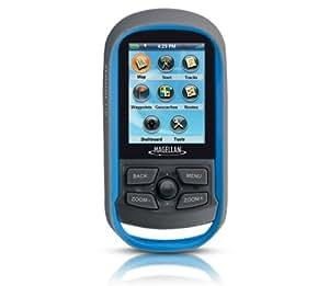 Navman Magellan Explorist 110 Outdoor Handheld GPS w/ World Map, Waterproof, Geocaching
