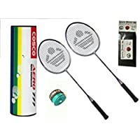 Cosco CB 90 Combo Baminton Kit WITH FREE SPORTSHOUSE WRIST BAND - B01JJ72DHM
