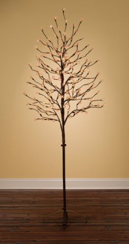 6.5' Pre-Lit Led Color-Changing Multi-Function Blossom Tree With Remote Control
