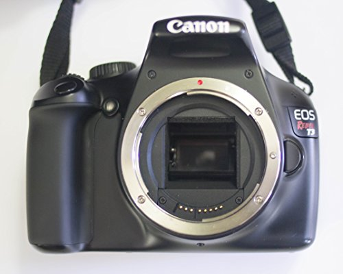 Canon EOS 1100D (Black) Digital SLR Camera (Body Only)