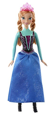 Disney Princess CFB81 - Frozen - Anna Scintillante
