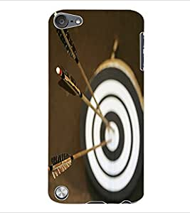 Colourcraft Dart Board Back Case Cover For Apple Ipod Touch 5