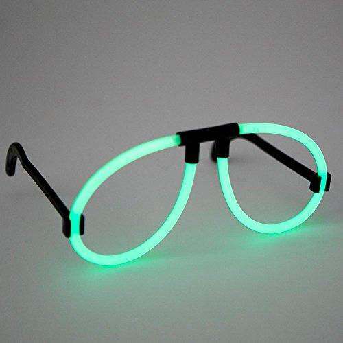 Green Glow Glasses - 1