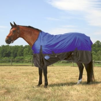 Tough-1 210 Denier Turnout Blanket 78In Blue