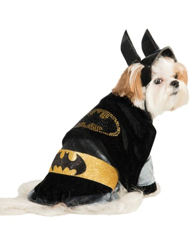 Halloween Costumes Item - Cat & Dog Costume Batman Medium