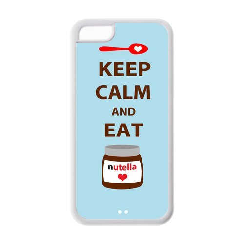 fashion-keep-calm-and-eat-nutella-personalized-iphone-5c-rubber-silicone-case-cover