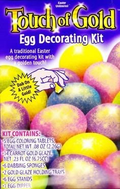 Touch of Gold Egg Decorating Kit