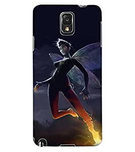 ColourCraft The Dark Angel Design Back Case Cover for SAMSUNG GALAXY NOTE 3