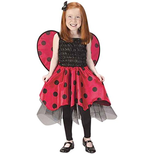 Kid's Ladybug Costume (Size:Medium 4-6)