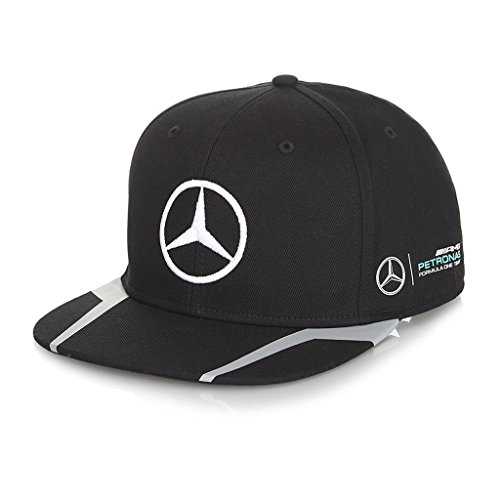 Mercedes benz petronas amg formula 1 lewis hamilton black for Mercedes benz hat amazon
