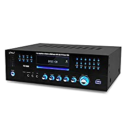 Pyle Home Theater Preamplifier Receiver, Audio/Video System, CD/DVD Player, AM/FM Radio, MP3/USB Reader, 1000 Watt from DJ Tech Pro USA, LLC