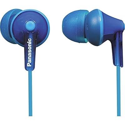 Panasonic RP-HJE125-A Wired Earphones, Blue
