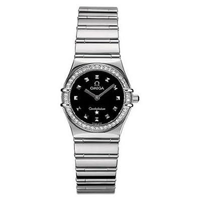 Omega Women's 1475.51.00 Constellation My Choice Quartz Diamond Bezel Watch