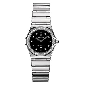 Omega Women's 1475.51.00 Constellation My Choice Quartz Diamond Bezel Watch