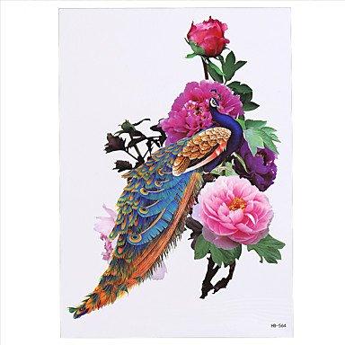 ODW8pcs orientali donne tradizionali uomini temporanea braccio corpo adesivo manica arte tatoo Phoenix disegno del tatuaggio bellezza sexy