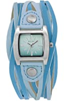 Kahuna Women's Quartz Watch with Turquoise Dial Analogue Display and Turquoise Plastic or PU Strap KLS-0263L