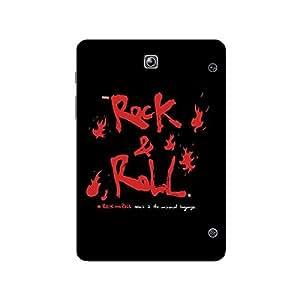 Garmor Designer Plastic Back Cover For Samsung Galaxy Tab S2 9.7