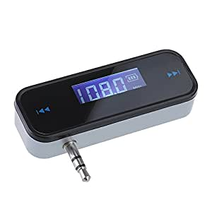 VicTsing Wireless Rechargeable FM Transmitter Car Audio for iPhone 4 4S 5 iPod Touch iPad2 3 4 ipad mini MP3 Player Samsung HTC Smartphones Cell Phones Support Hands free