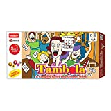 Funskool Tambola 2-in-1 Game, Multi Color