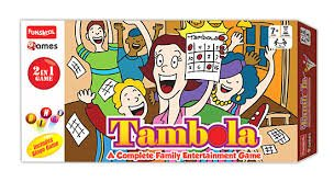 Funskool Tambola 2-in-1 Game, Multi Color