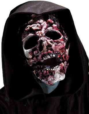 Ghoul Face Halloween Latex Prosthetic Kit