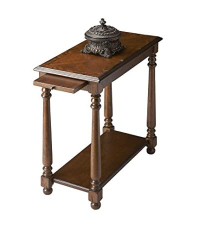 Butler Chairside Table, Cherry
