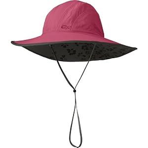 Outdoor Research Women's Oasis Sombrero Hat, Mulberry, Medium