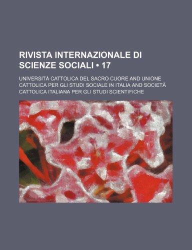 Rivista Internazionale Di Scienze Sociali (17 )