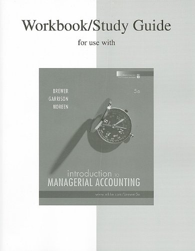 Study Guide/Workbook to accompany Intro to Managerial...