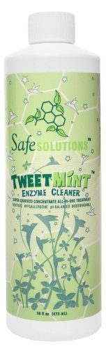Best Natural Cleaning Product Safe Solutions TweetMint Enzyme Cleaner Nontoxic 16 OZ Bottle (Washer Enzyme Cleaner compare prices)