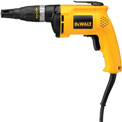 Learn More About DEWALT DW255 6-Amp Drywall Screwdriver