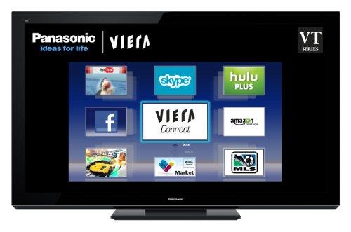 Panasonic VIERA TC-P65VT30 65-inch 1080p 3D Plasma HDTV, Black (2011 Model)