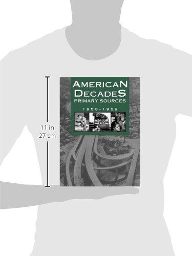 American Decades Primary Sources: 1950-1959: 6