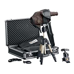 Leupold GR HD Spotting Scope Kit, Brown, 12-40 x 60mm by Leupold
