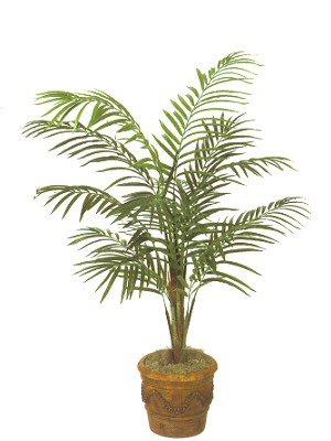 Island Areca Silk Artificial Palm Tree Plant 8′