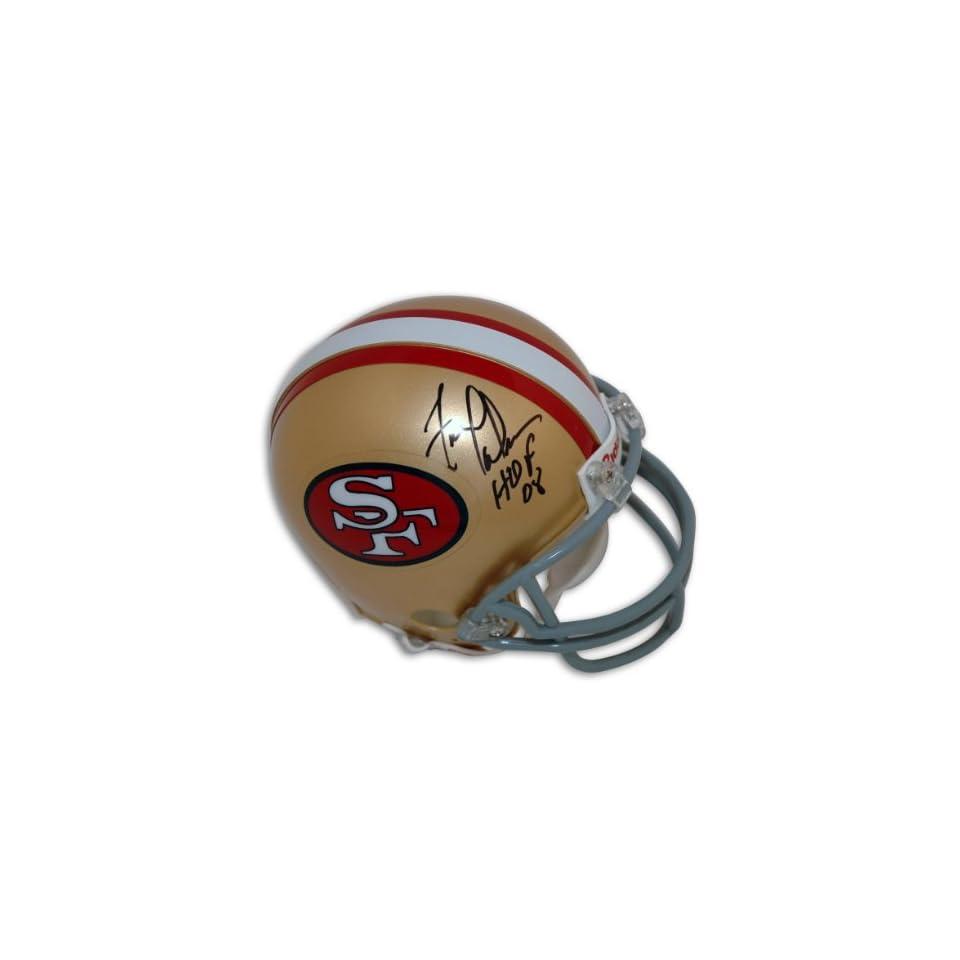 Fred Dean Autographed San Francisco 49ers Mini Helmet Inscribed HOF 08