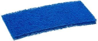 Carlisle 4072500 Nylon Medium Scrub Pad, 10-Inch (Case of 20)