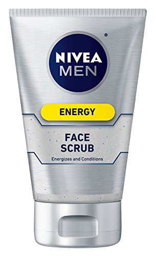 Nivea for Men Face Scrub Energy, 4.4 oz