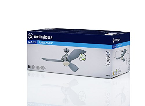Westinghouse Lighting 7800840 - Ventilatore a pala, fissaggio a soffitto