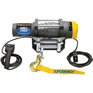 Superwinch 1145220 Terra 45 4,500-Pound ATV Winch with Cable - Save: 43%