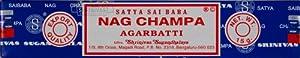Satya Nag Champa Incense, 15 Gms x 12 Packs