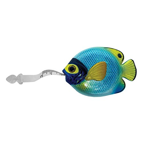 Wellspring gift fish tape measure perfect for sewing for Fish measuring tape