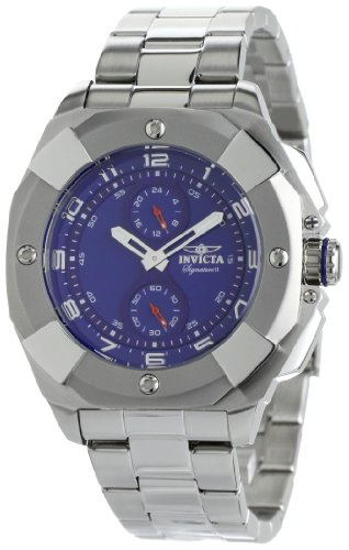 Invicta Men's 7298 Signature II Blue Dial Stainless-Steel Watch