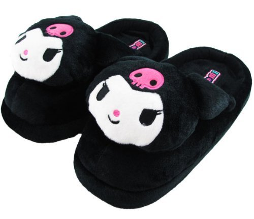 Cheap Hello Kitty Kuromi Adult Black Slippers – Size Medium (6-9 Womens US) (B002UU9PC2)