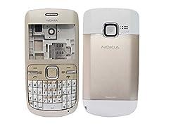 Nokia C3 Replacement Body Housing Front & Back Original Panel - Golden