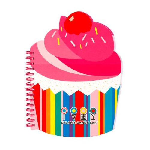 Dylan's Candy Bar Scented Notebook - Cupcake