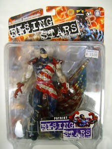 Rising Stars Series 1 Patriot - Unpainted Action figures