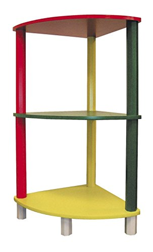 Ore International H-59A Kids 3-Tier Corner Shelf - 1