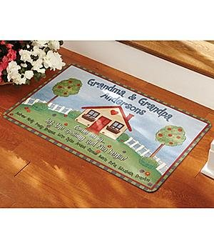 Personalized Let The Spoiling Begin Doormats Personalized Let the Spoiling