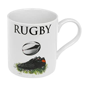 New Rugby Fine China Mug - The Perfect Gift For The Rugby Enthusiast (LP99888)